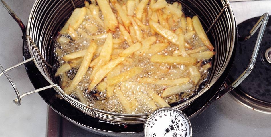 Come friggere le patatine