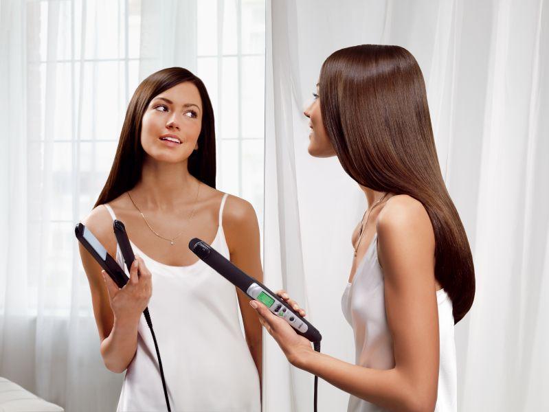 Come usare una piastra per capelli