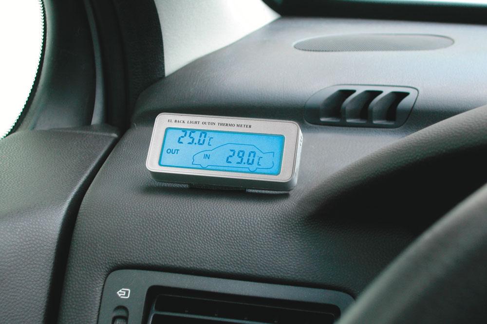 Termometro digitale interno//esterno auto camion
