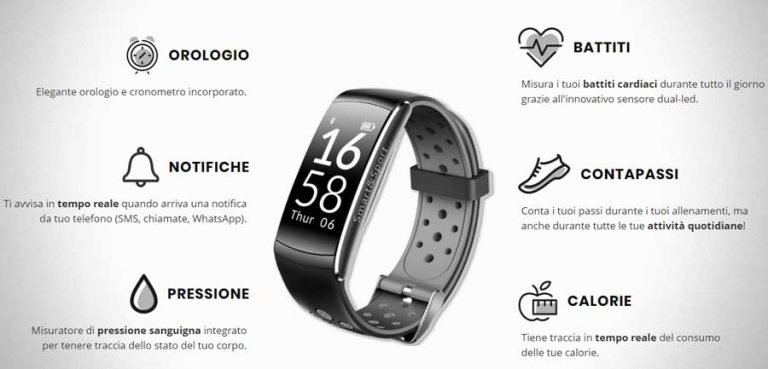 SMART & SPORT WATCH recensione