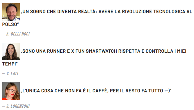 Xfun Watch commenti