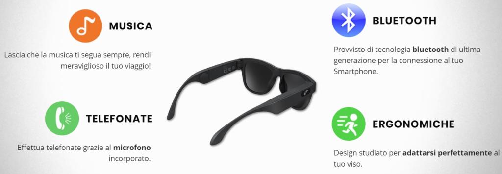 Smart Glasses recensione